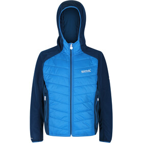 Regatta Kielder Hybrid IV Quilted Jacket Kids, imperial blue/deep space